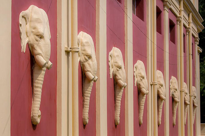 The Elephants at the Headquarters Building