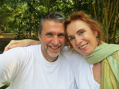 Michiel Haas and Helma Kuit